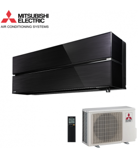 Aer Conditionat MITSUBISHI ELECTRIC Kirigamine Style MSZ-LN35VGB / MUZ-LN35VG R32 Onyx Black Inverter 12000 BTU/h