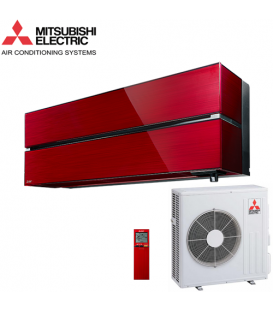 Aer Conditionat MITSUBISHI ELECTRIC Kirigamine Style MSZ-LN60VGR / MUZ-LN60VG R32 Ruby Red Inverter 22000 BTU/h
