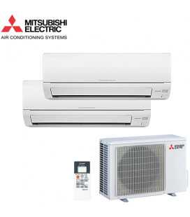 Aer Conditionat MULTISPLIT MITSUBISHI ELECTRIC 2x MSZ-DM35VA Inverter 2x12k BTU/h