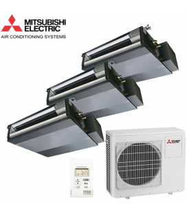 Aer Conditionat MULTISPLIT Duct MITSUBISHI ELECTRIC 3x SEZ-KD25VAQ Inverter 3x9k BTU/h