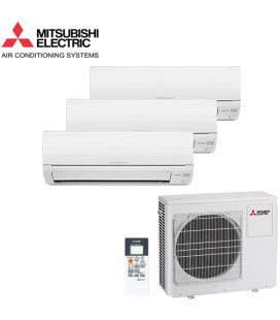 Aer Conditionat MULTISPLIT MITSUBISHI ELECTRIC MXZ3DM50VA / 2x MSZ-DM25VA + MSZ-DM35VA Triplu Split Inverter
