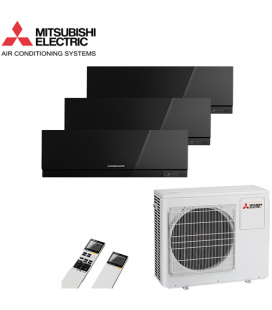Aer Conditionat MULTISPLIT MITSUBISHI ELECTRIC 3x MSZ-EF25VEB Inverter 3x9k BTU/h
