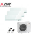 Aer Conditionat MULTISPLIT MITSUBISHI ELECTRIC MXZ-3D68VA / 3x  MSZ-EF25VEW Triplu Split Inverter