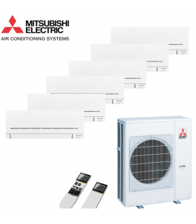Aer Conditionat MULTISPLIT MITSUBISHI ELECTRIC MXZ-6C122VA / 6x MSZ-SF25VE Inverter
