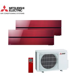 Aer Conditionat MULTISPLIT MITSUBISHI ELECTRIC Kirigamine Style 2x MSZ-LN25VGR / MXZ-2F42VF Dublu Split Inverter