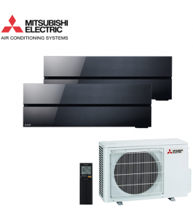 Aer Conditionat MULTISPLIT MITSUBISHI ELECTRIC Kirigamine Style 2x MSZ-LN25VGB / MXZ-2F42VF Dublu Split Inverter