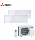 Aer Conditionat MULTISPLIT MITSUBISHI ELECTRIC Kirigamine Style 2x MSZ-LN35VGV / MXZ-2F42VF Dublu Split Inverter