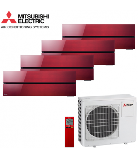 Aer Conditionat MULTISPLIT MITSUBISHI ELECTRIC Kirigamine Style 4x MSZ-LN35VGR / MXZ-4F72VF Inverter